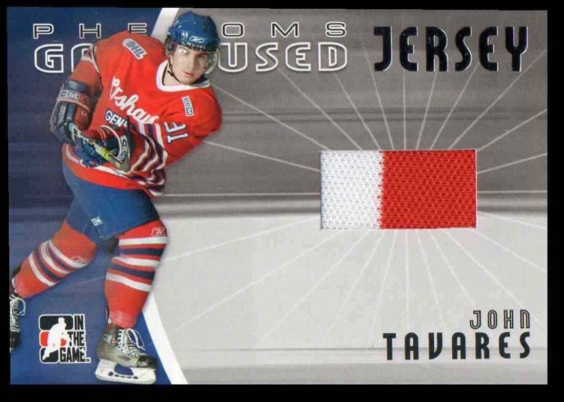 2006-07 In The Game Phenoms John Tavares Rookie Jersey