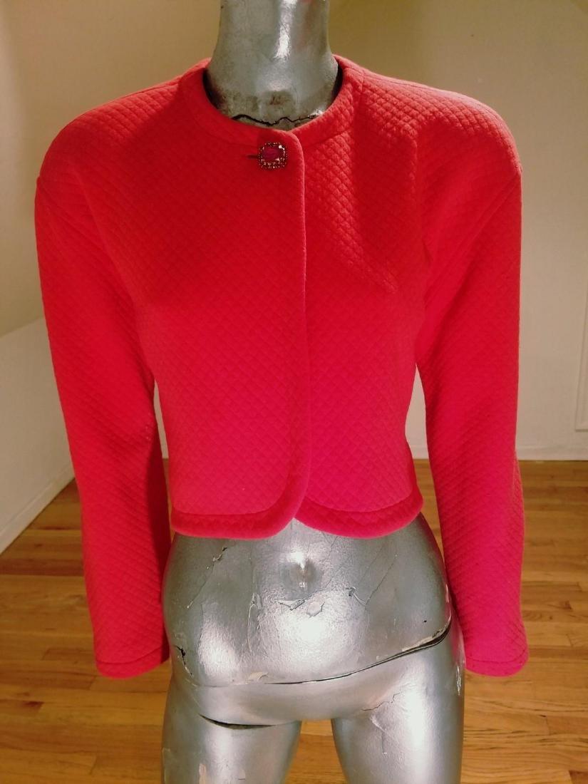 Vintage Prada Couture Milano Quilted Bolero Jacket
