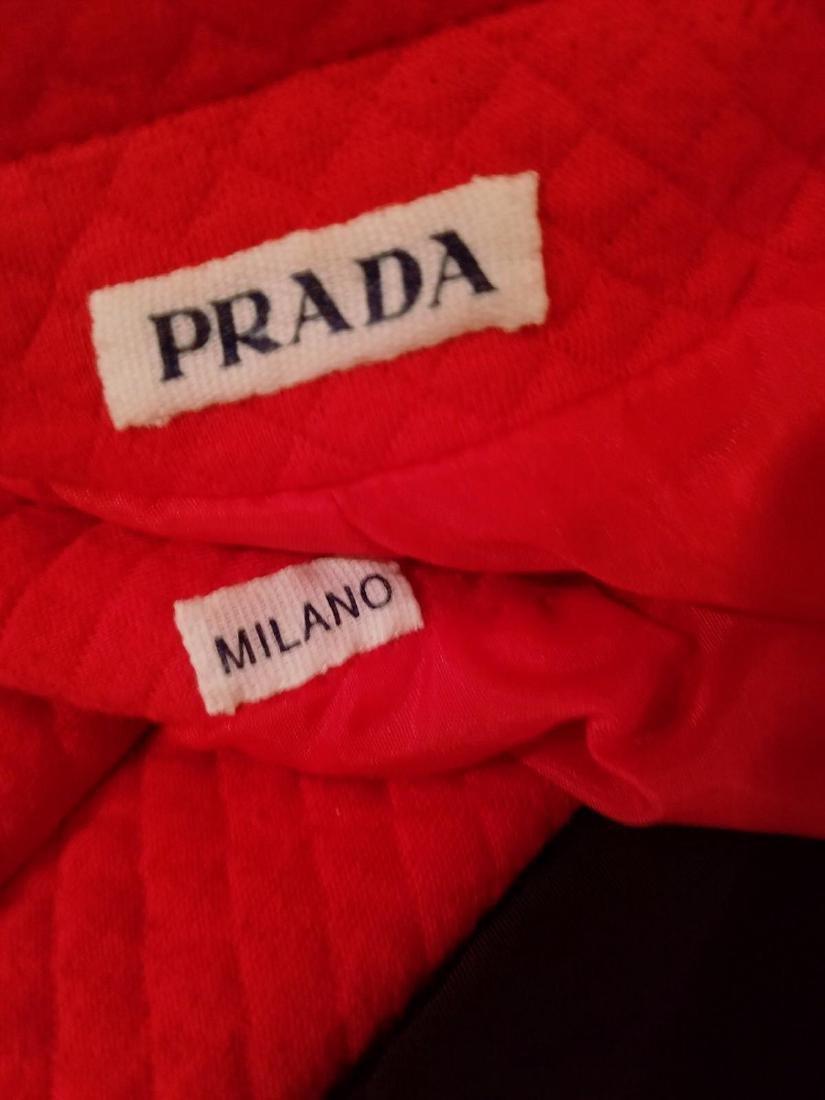 Vintage Prada Couture Milano Quilted Bolero Jacket - 2