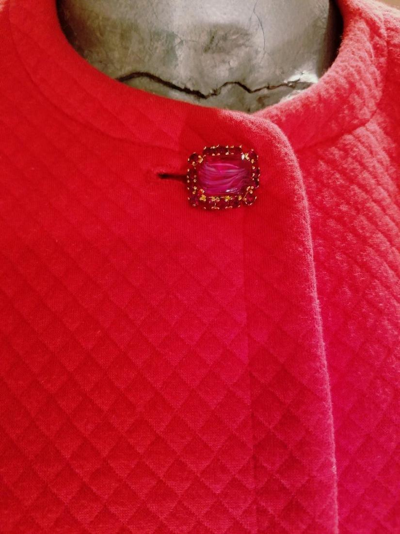 Vintage Prada Couture Milano Quilted Bolero Jacket - 3