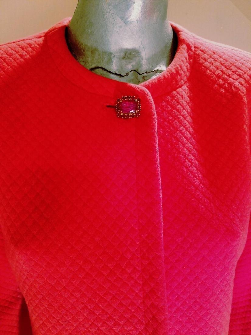 Vintage Prada Couture Milano Quilted Bolero Jacket - 7