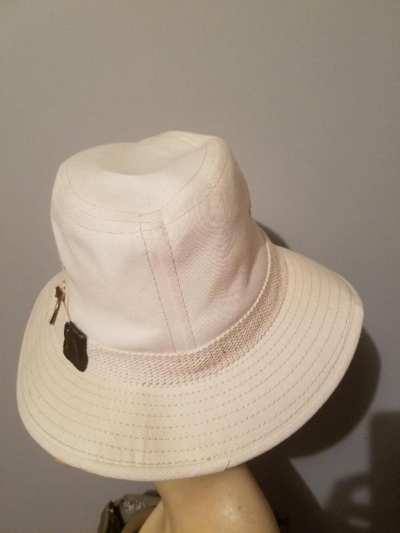 Vintage Panama Jack Canvas Safari Fedora Hat - 9
