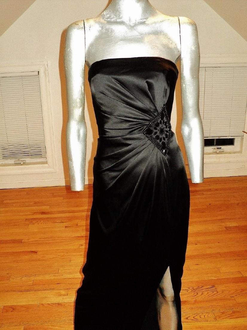 Vintage Vamp Soie Strapless Gown Gathered Side - 3