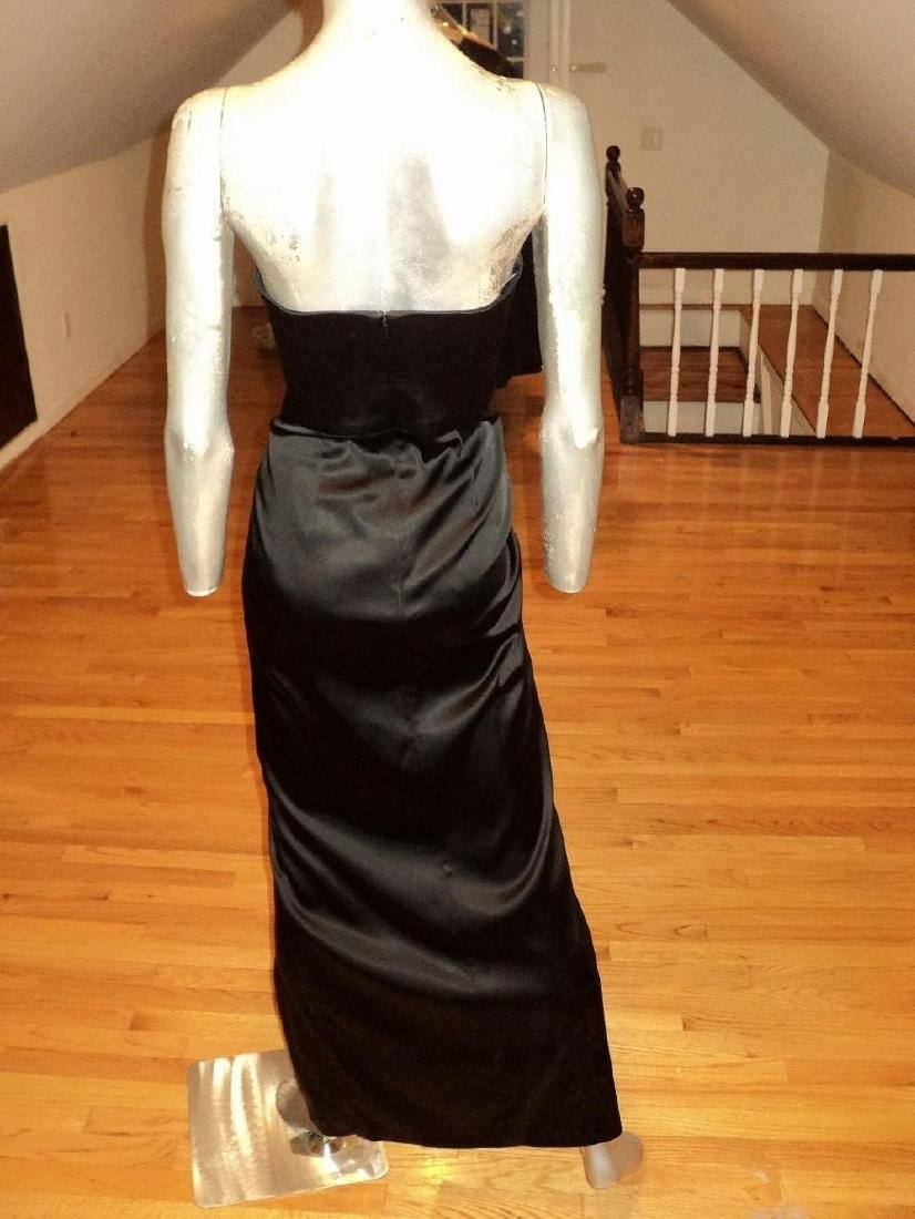 Vintage Vamp Soie Strapless Gown Gathered Side - 5