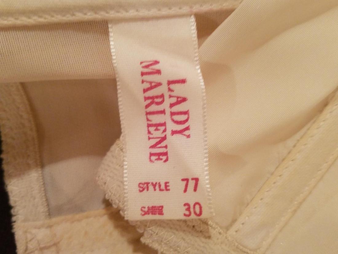 Vintage Lady Marlene Lace/nylon Waist Garter - 7