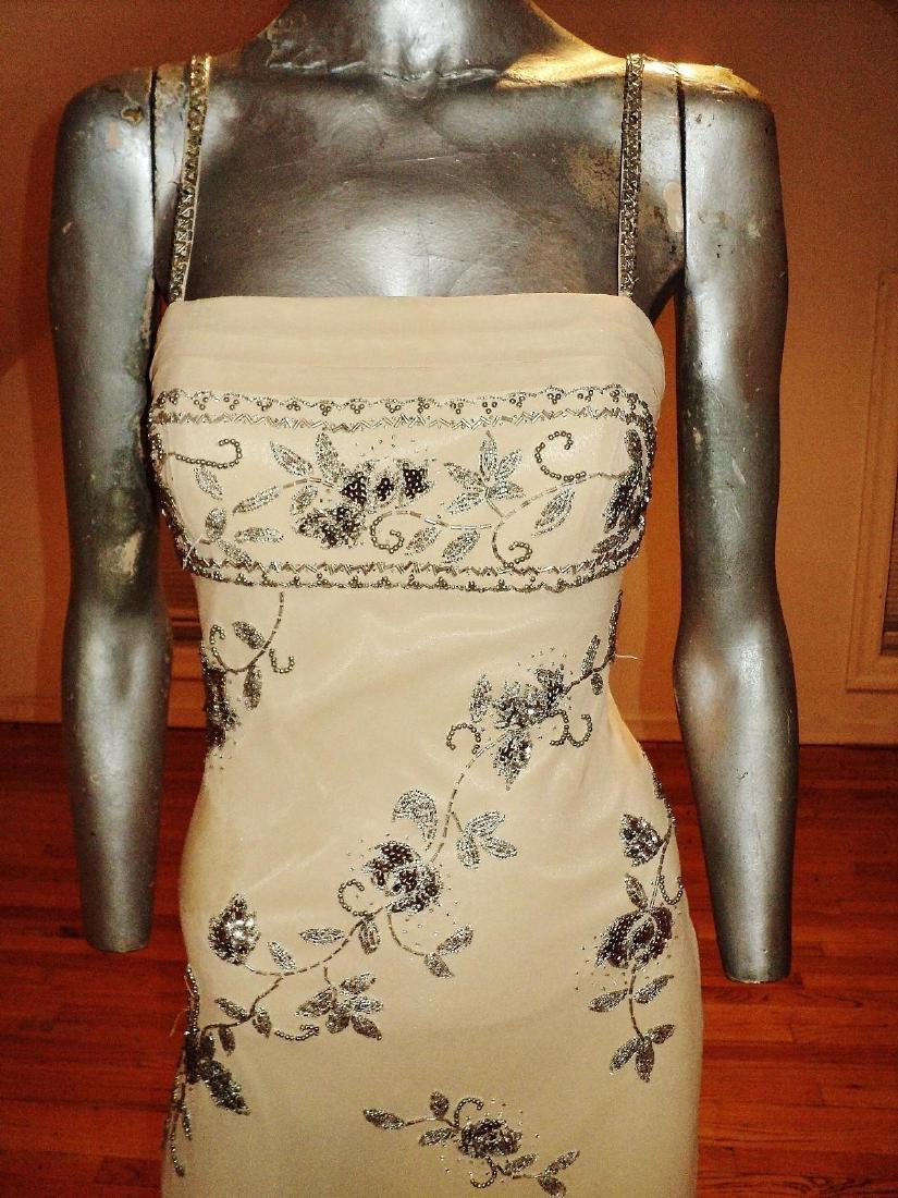 Vintage Sue Wong Layered Silk Handkerchief Dress - 2