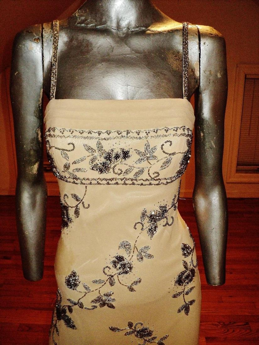 Vintage Sue Wong Layered Silk Handkerchief Dress - 3