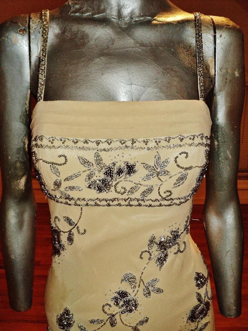 Vintage Sue Wong Layered Silk Handkerchief Dress - 4