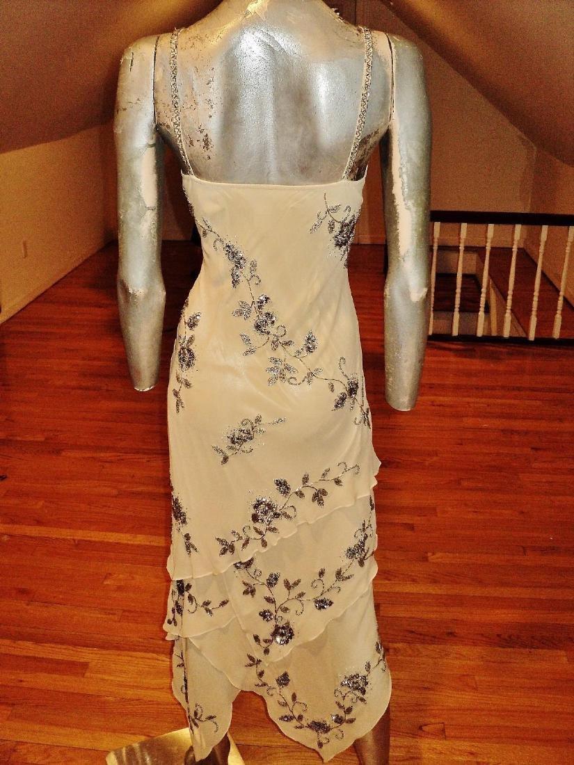 Vintage Sue Wong Layered Silk Handkerchief Dress - 8
