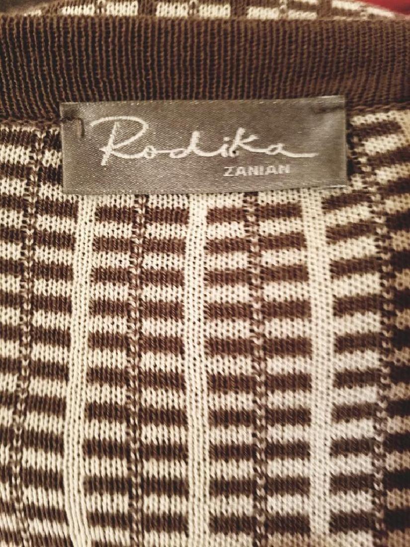 French Dress/Jacket Ensemble Plaid Knit Chanel Style - 9
