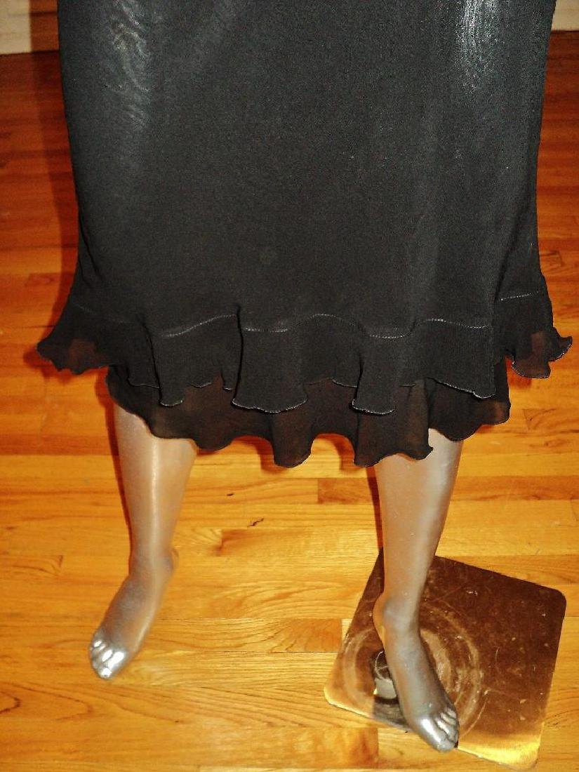 Moschino Silk Layering Ruffled Dress - 6