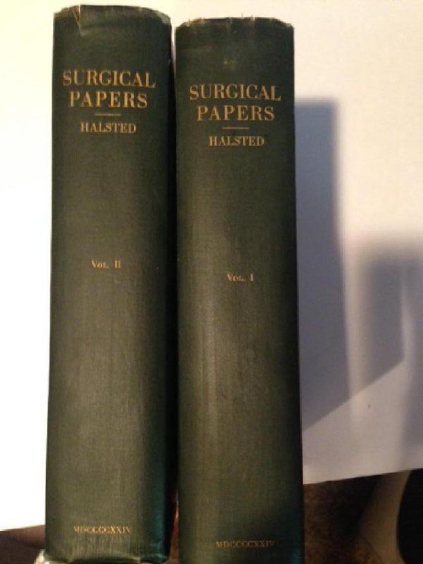 Selected Papers W. Stewart Halstead First Edition 1924