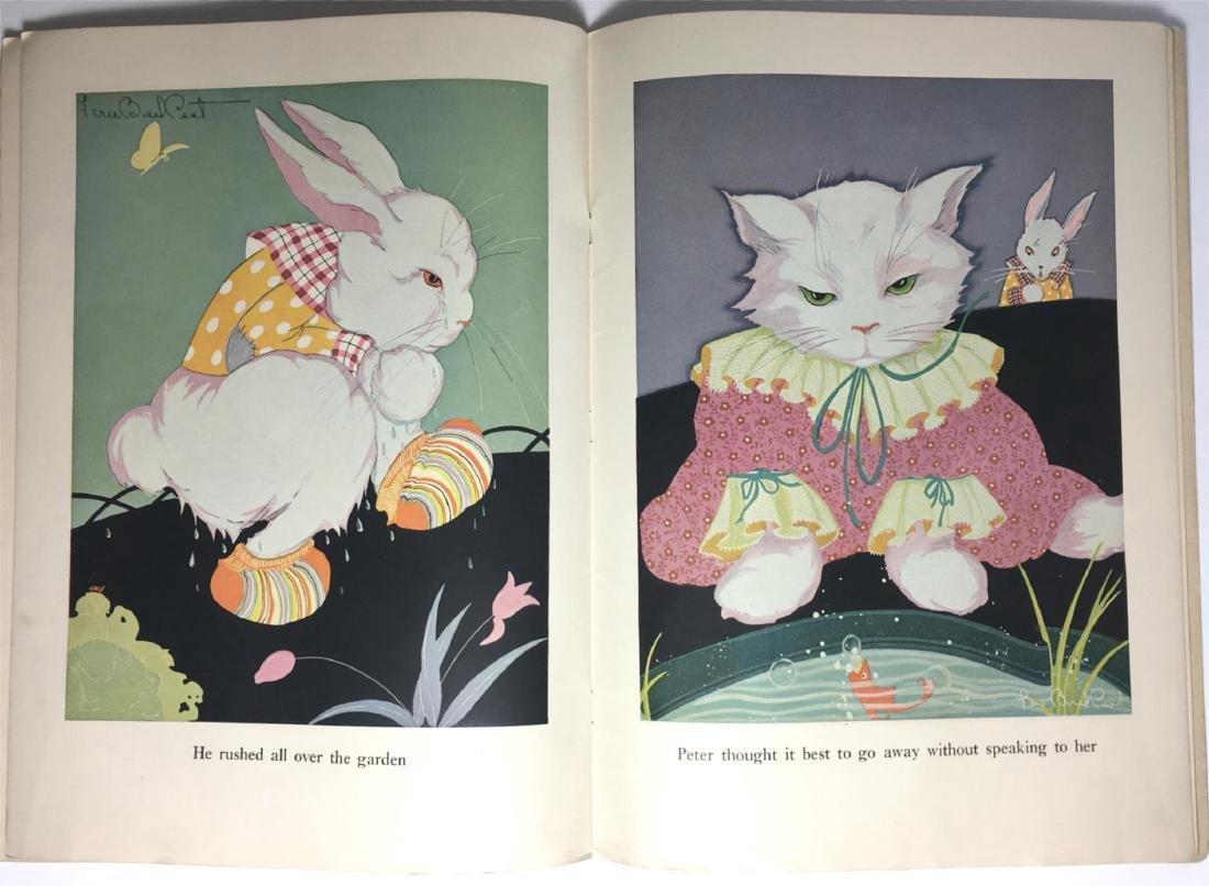 The Tales of Peter Rabbit Beatrix Potter 1921 - 4