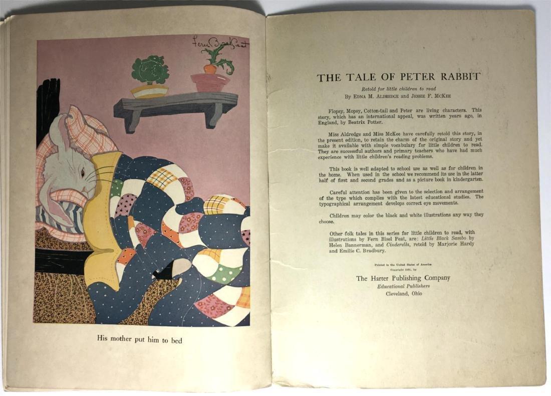 The Tales of Peter Rabbit Beatrix Potter 1921 - 5