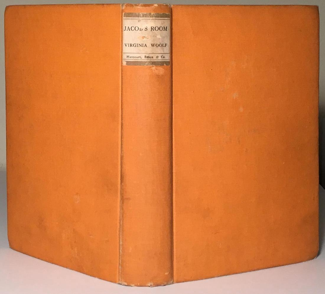 Jacob's Room Virginia Woolf First US Edition 1923