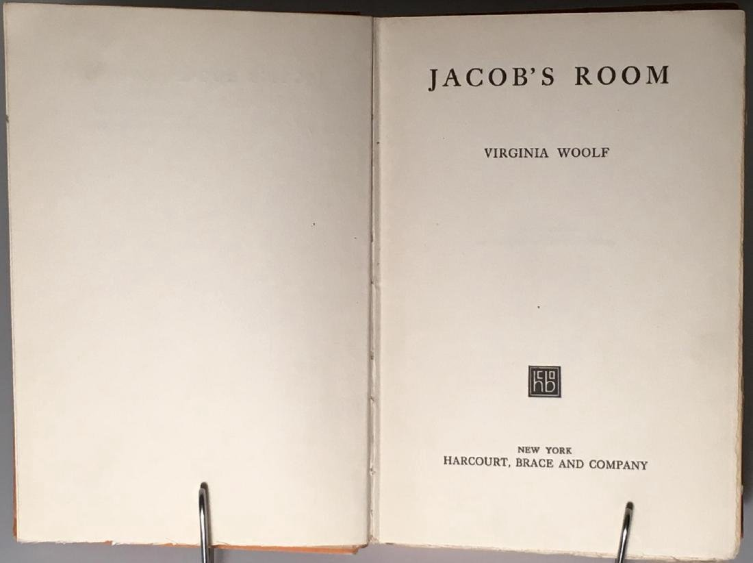 Jacob's Room Virginia Woolf First US Edition 1923 - 3