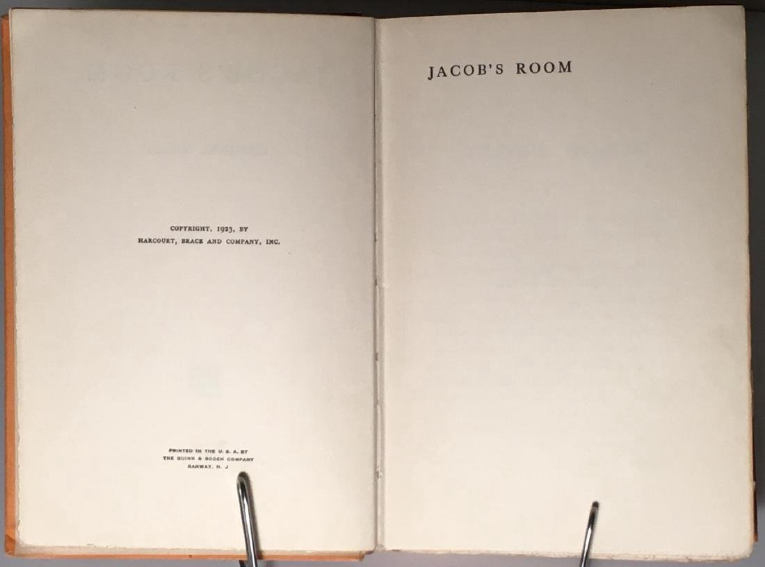 Jacob's Room Virginia Woolf First US Edition 1923 - 4