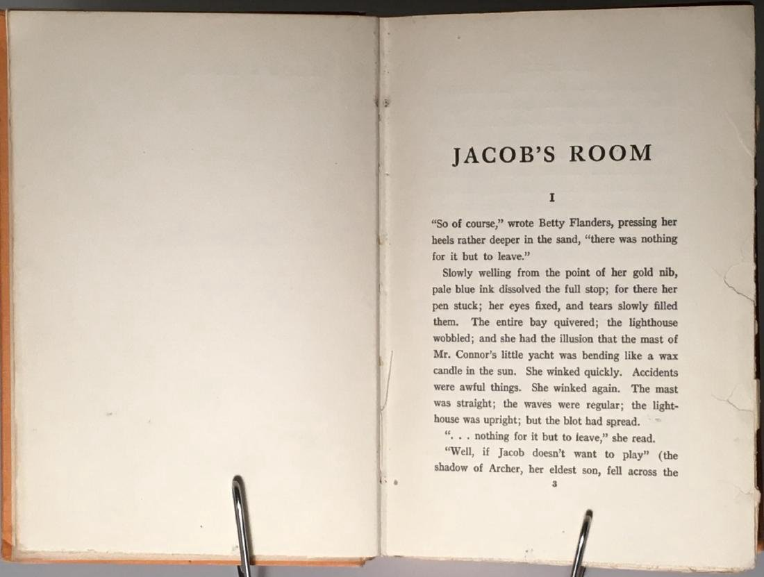 Jacob's Room Virginia Woolf First US Edition 1923 - 5