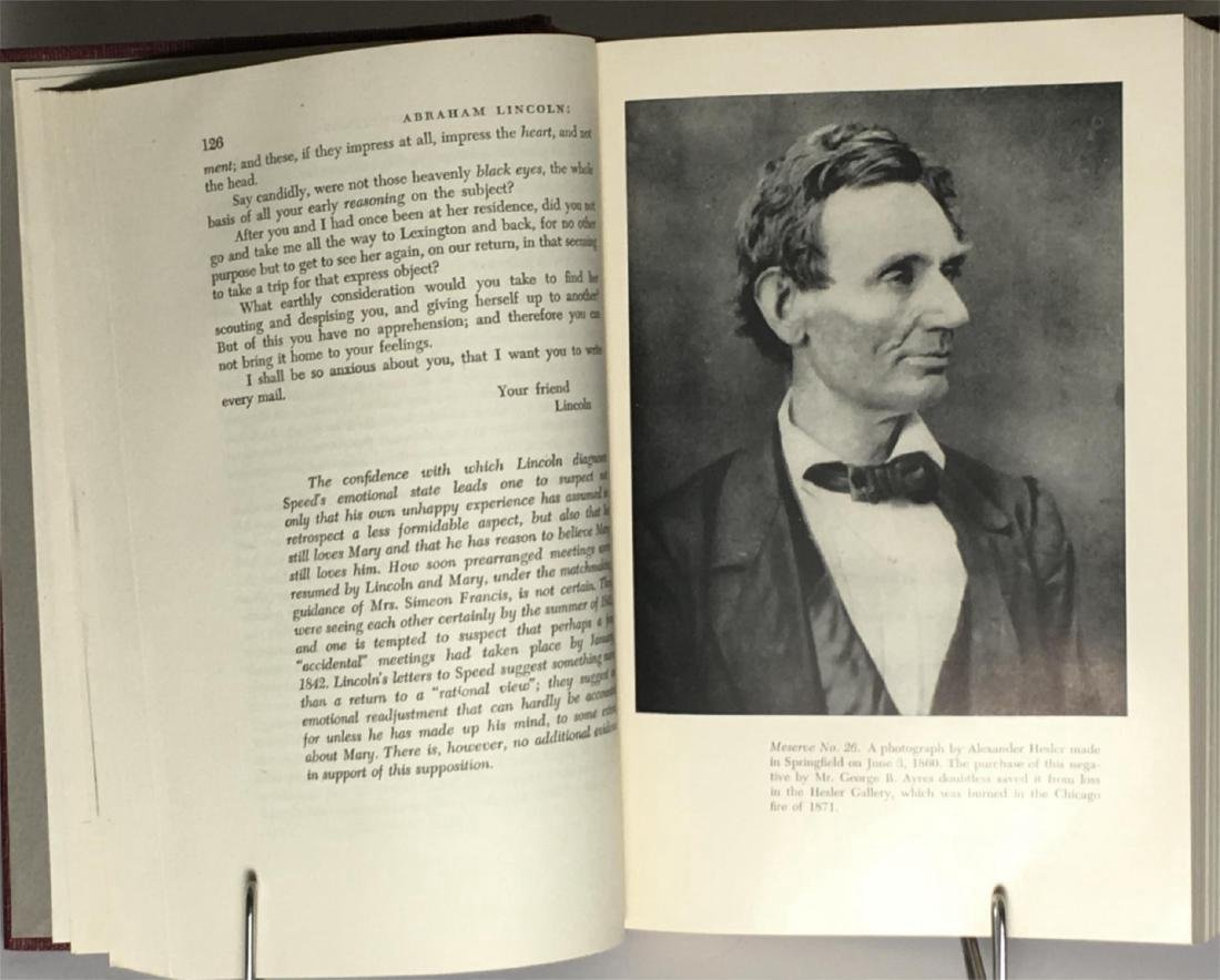 Abraham Lincoln Speeches Writings First Printing 1946 - 4