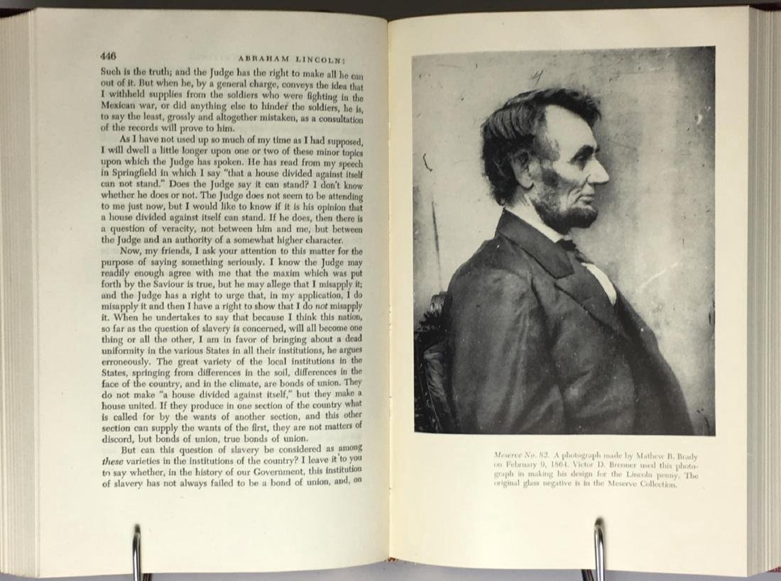 Abraham Lincoln Speeches Writings First Printing 1946 - 5