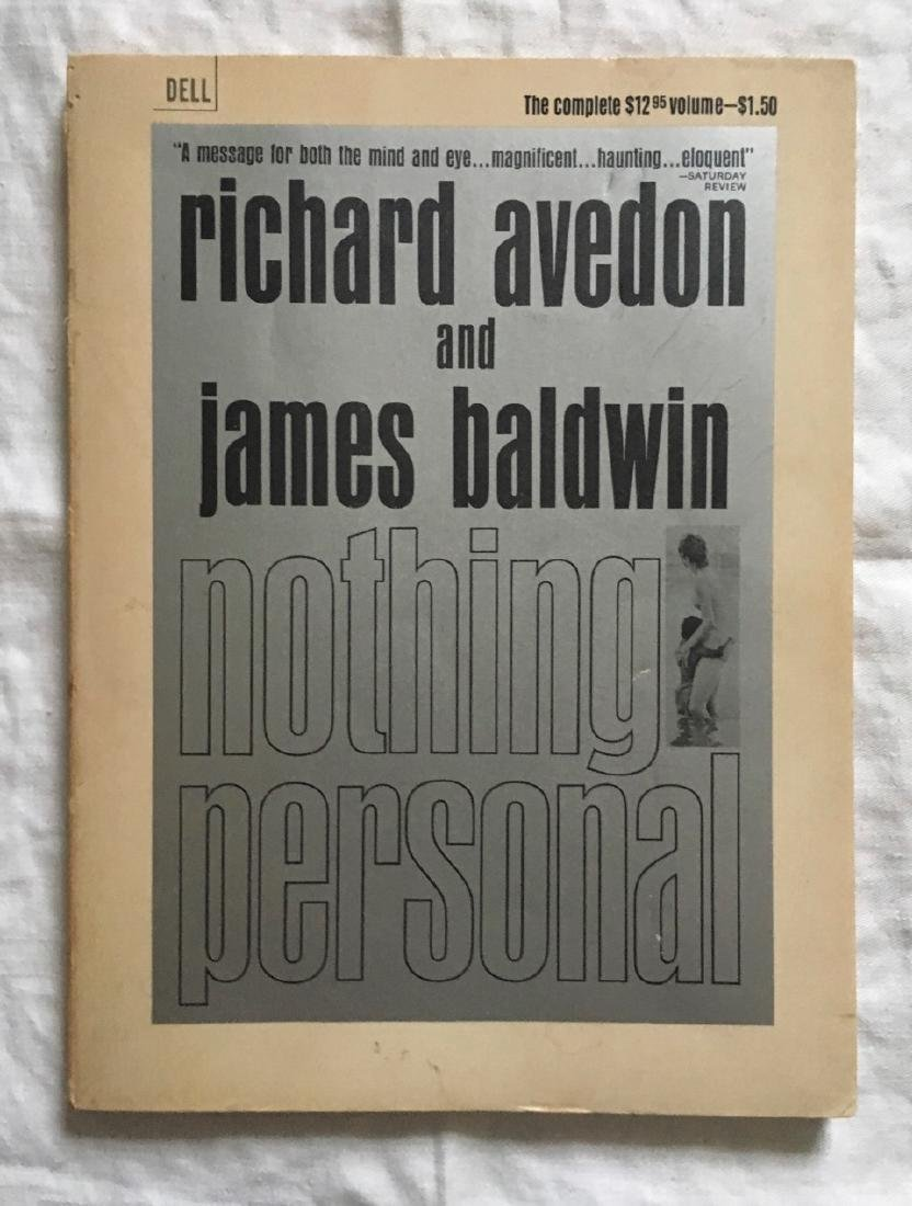 Nothing Personal James Baldwin and Richard Avedon 1965