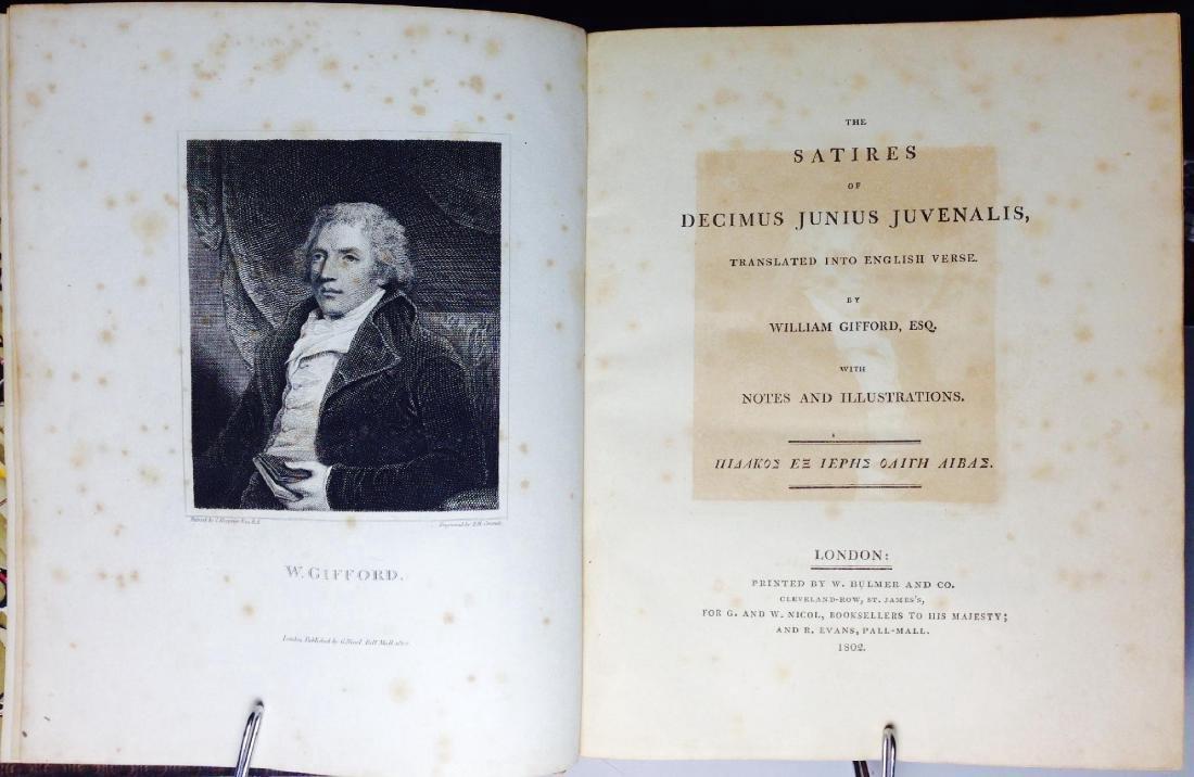 Satires of Decimus Junius Juvenalis Decimus 1802 - 2