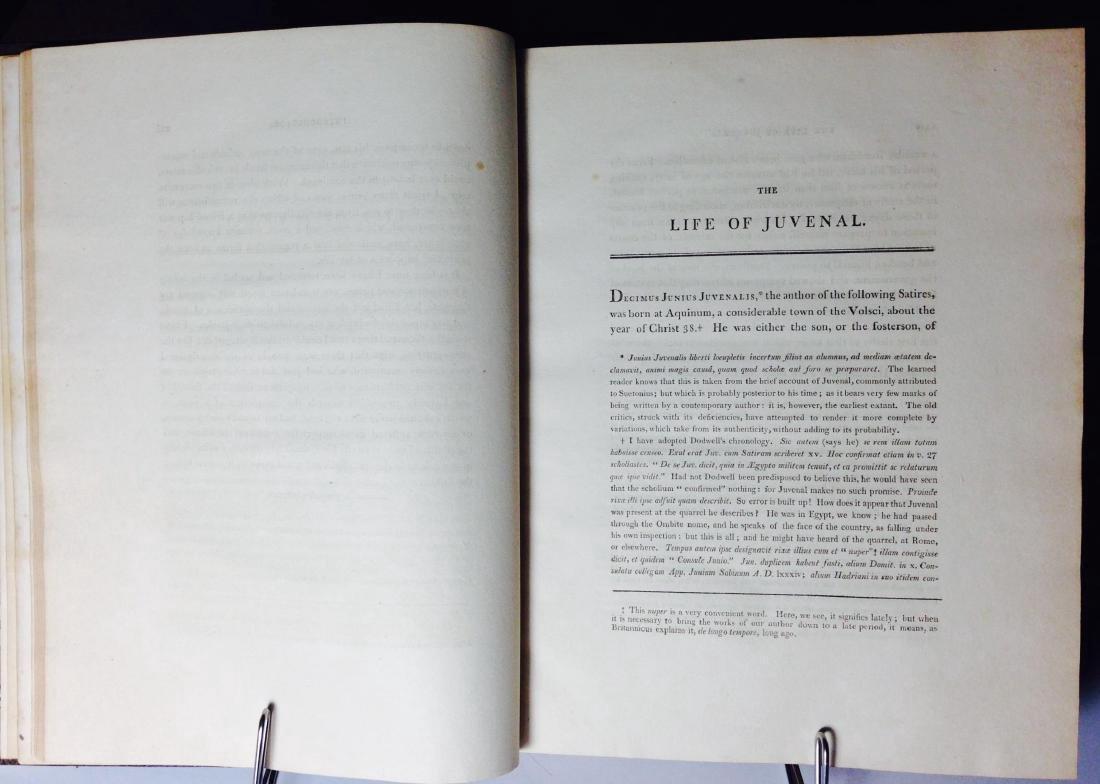 Satires of Decimus Junius Juvenalis Decimus 1802 - 3