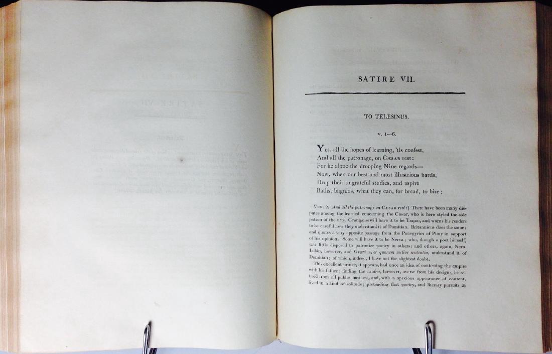 Satires of Decimus Junius Juvenalis Decimus 1802 - 4