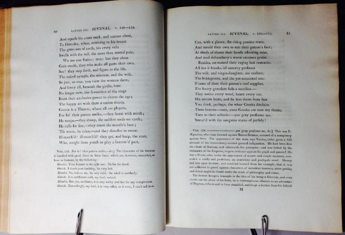 Satires of Decimus Junius Juvenalis Decimus 1802 - 5