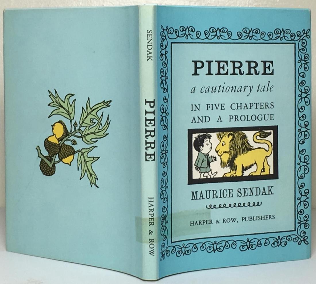 Pierre, A Cautionary Tale Illustrated Maurice Sendak