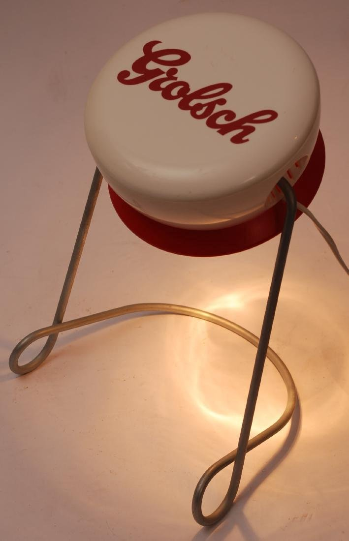 Dutch Grolsch Desklamp - Beer Advertising Object - 5
