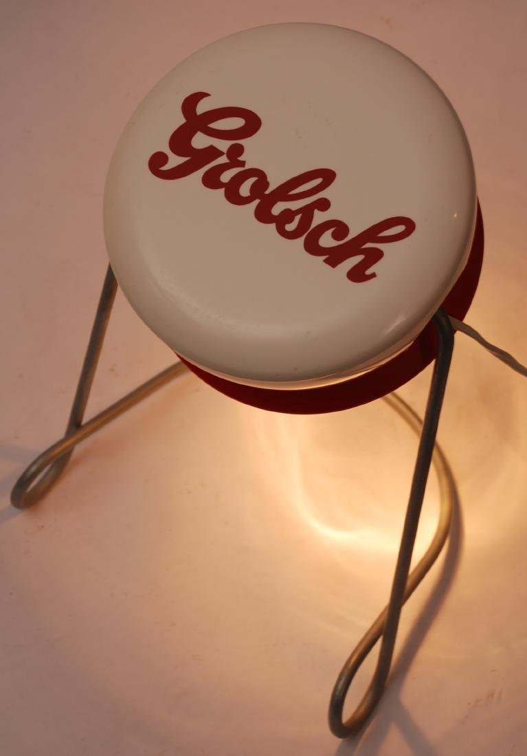Dutch Grolsch Desklamp - Beer Advertising Object - 7
