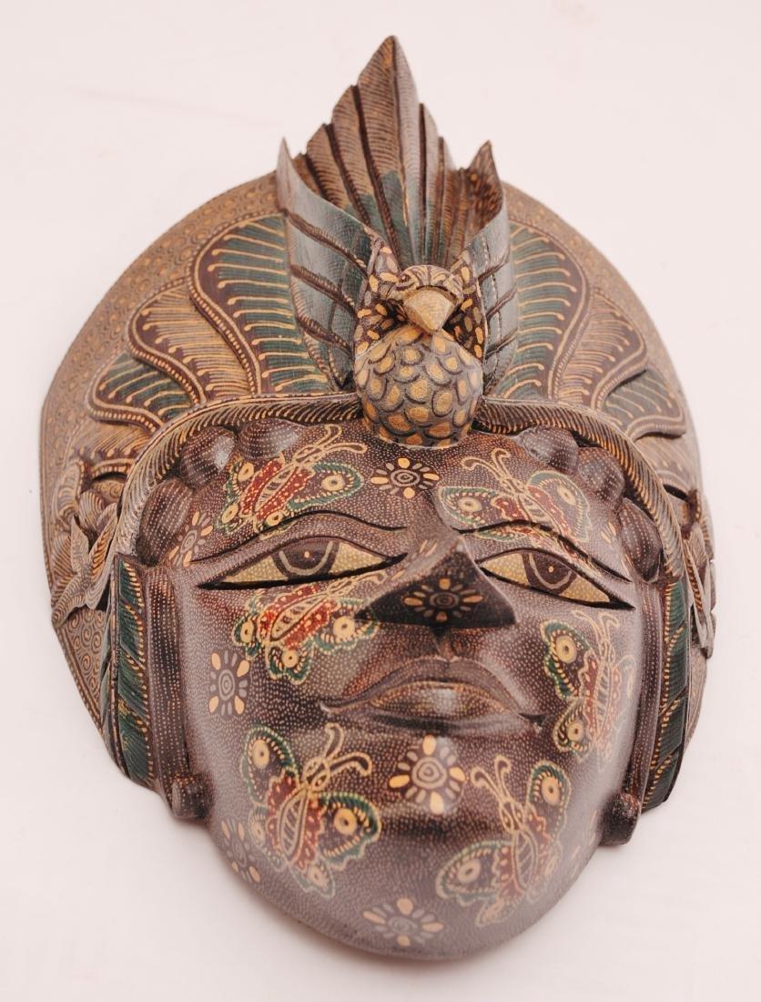 Bimo Kurdo Coconut Handpainted Mask - 2
