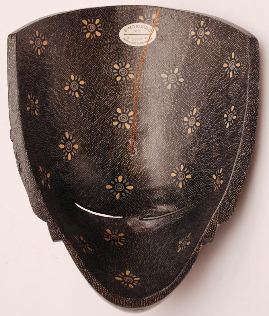 Bimo Kurdo Coconut Handpainted Mask - 4
