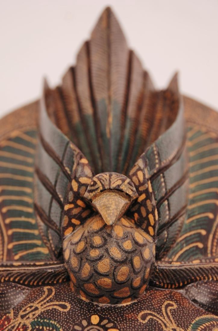 Bimo Kurdo Coconut Handpainted Mask - 5