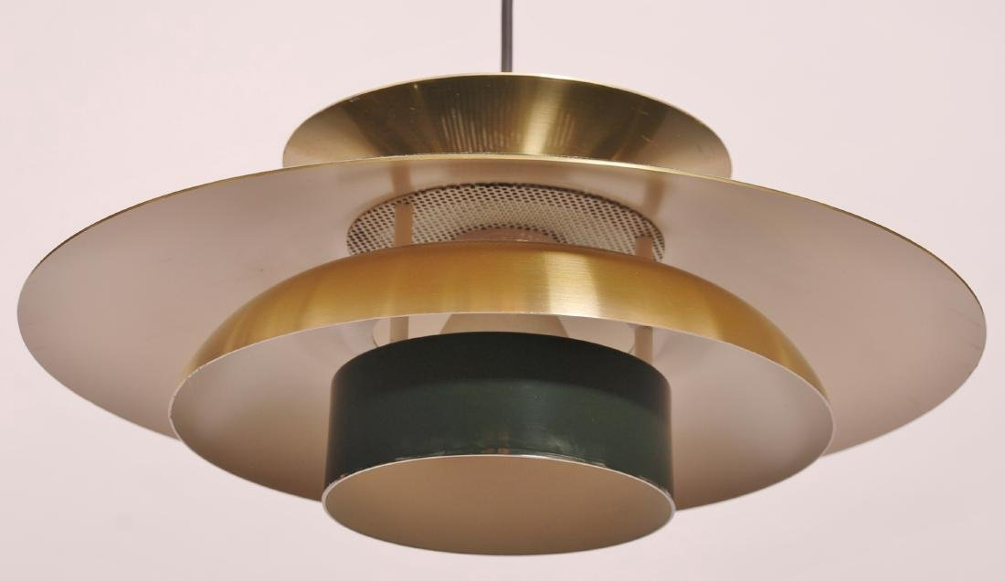 Retro Danish Pendant Lamp, 1980s - 4
