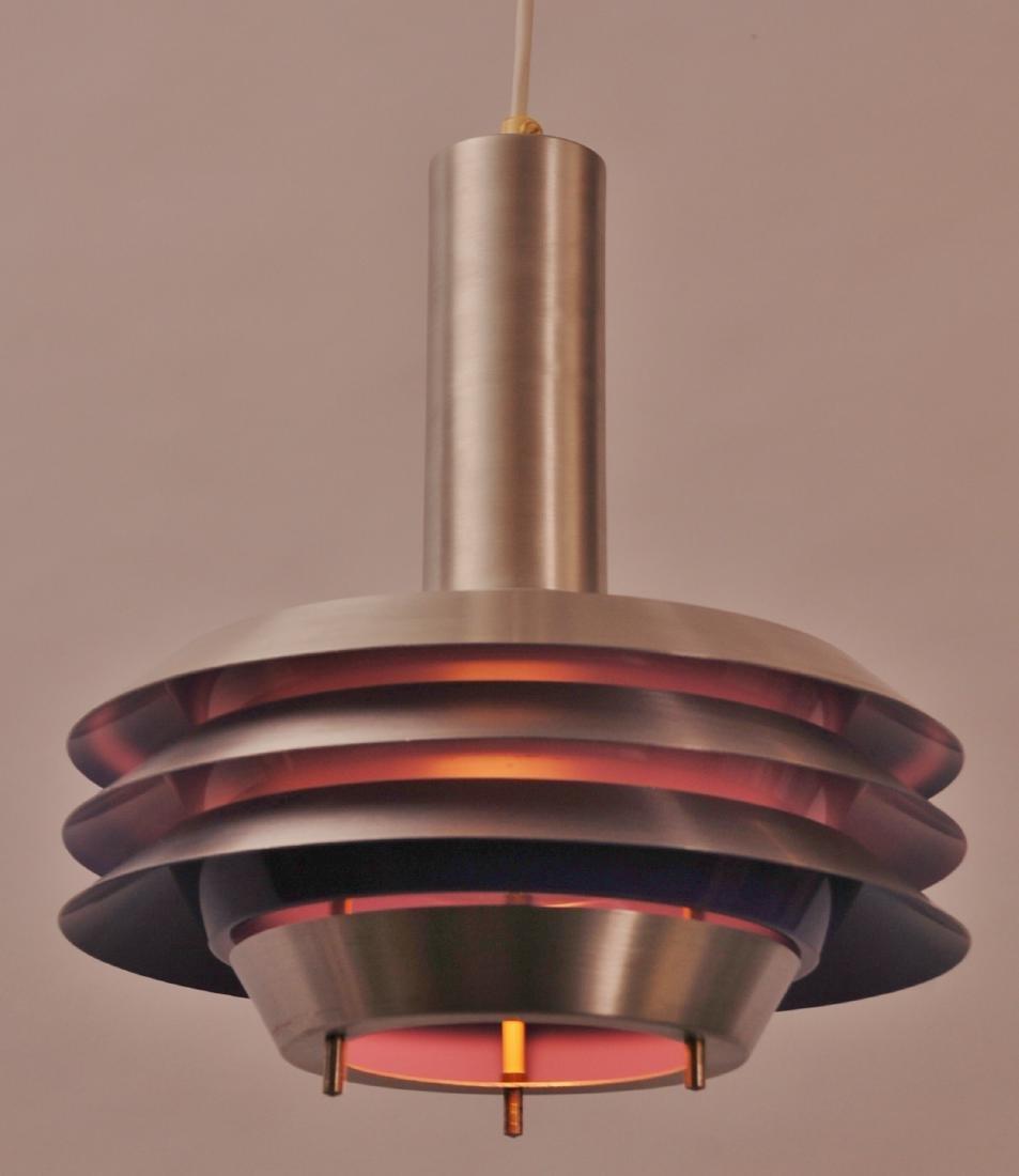 Vintage Danish Lyskaer Pendant Lamp, 1969 - 4