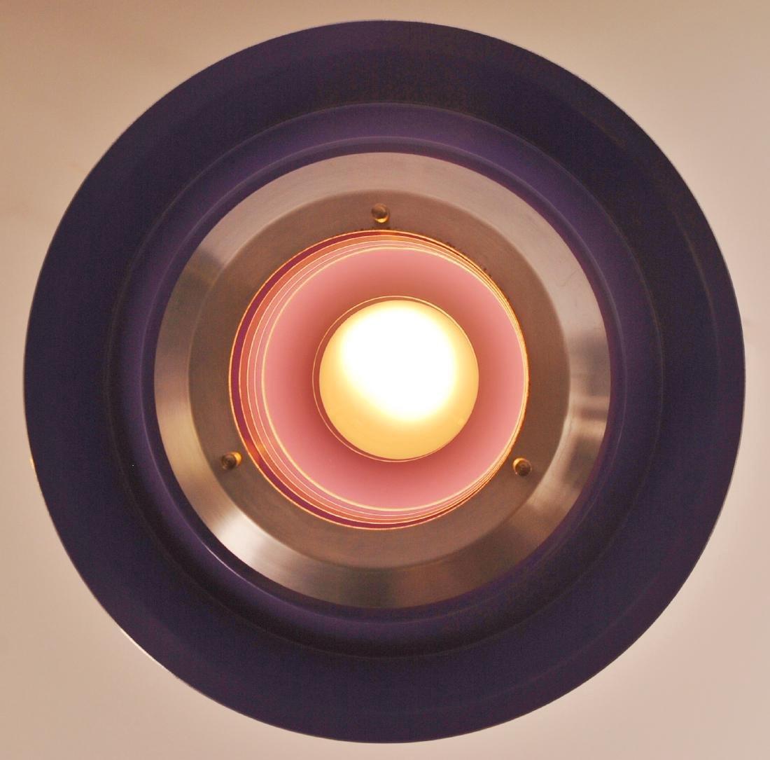 Vintage Danish Lyskaer Pendant Lamp, 1969 - 8