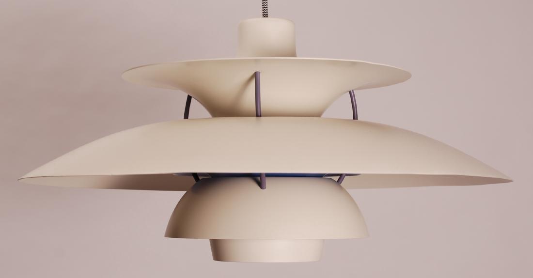 Danish Louis Poulsen PH5 Pendant Lamp