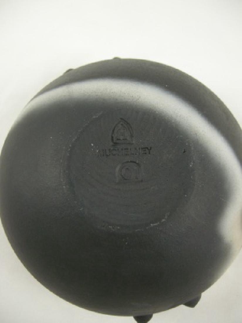 John Leach Large Black Mood Teabowl - 2