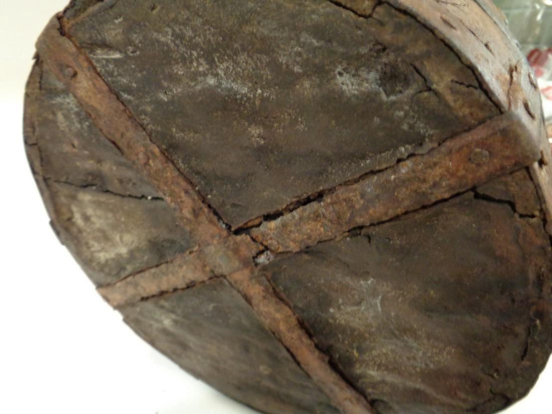Antique Primitive Wooden Bucket - 6