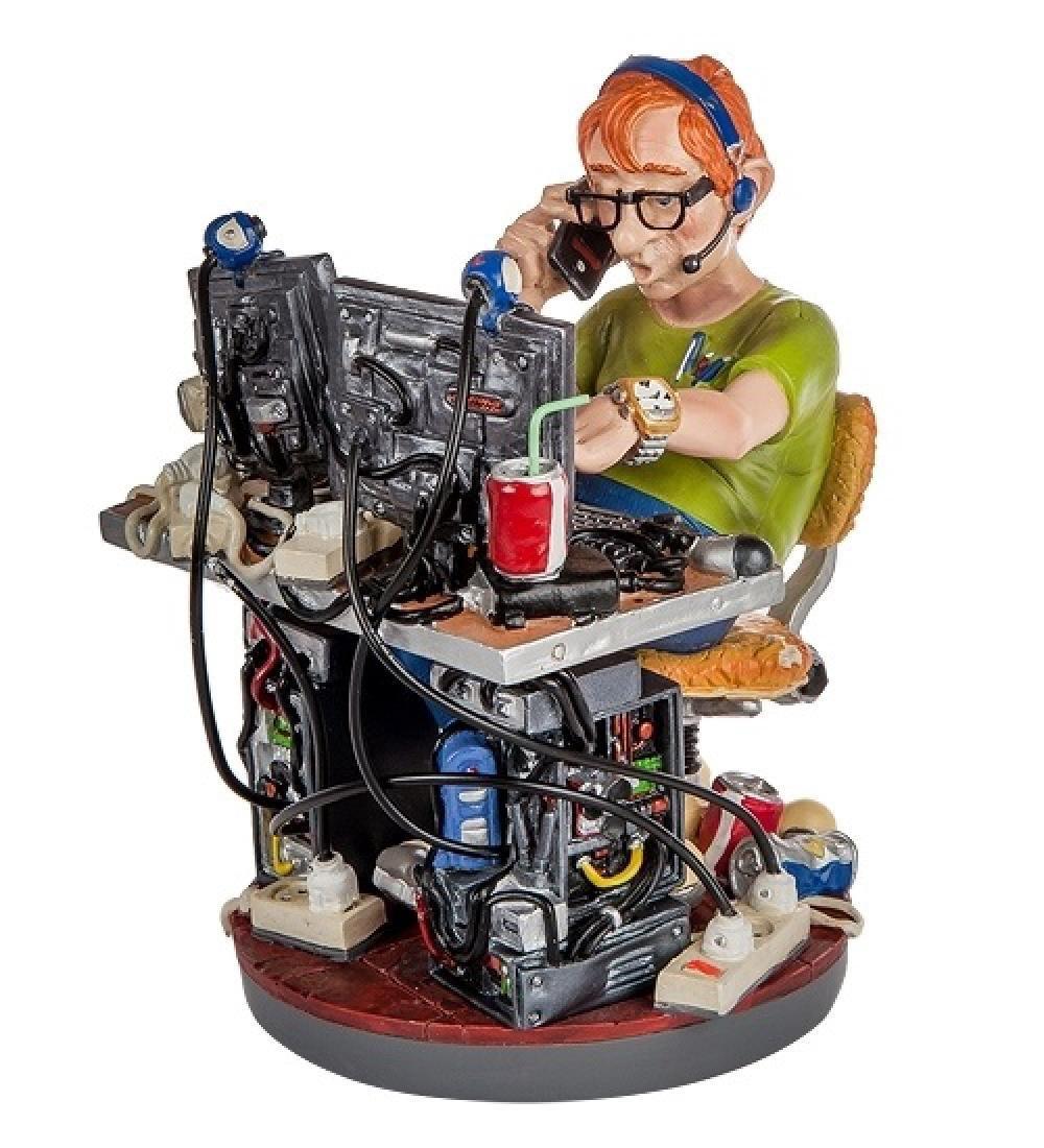 Profisti Collection: Computer Programmer Statue