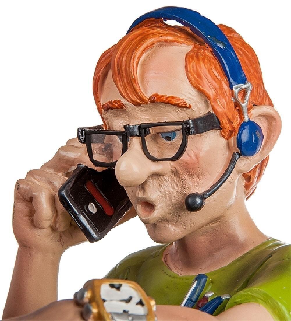 Profisti Collection: Computer Programmer Statue - 2