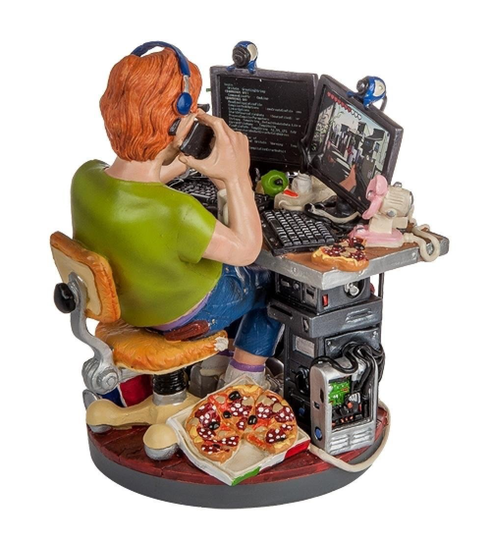 Profisti Collection: Computer Programmer Statue - 3