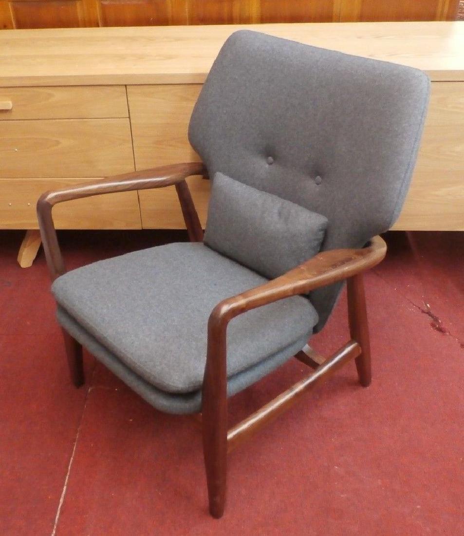 Mid Century Modern Arne Vodder Chair Replica
