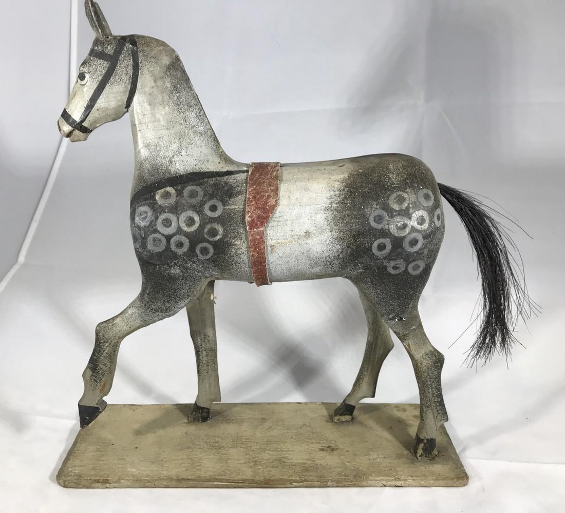 Folk Art Horse Toy