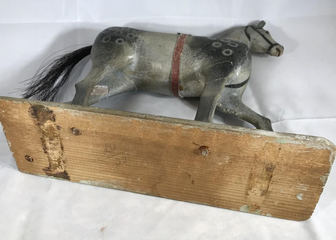 Folk Art Horse Toy - 4