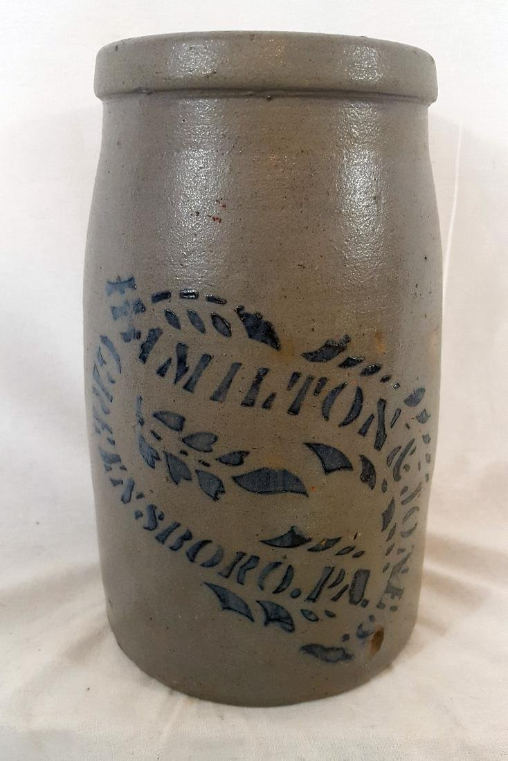 Stoneware Hamilton Jones Greensboro 2 Quart Wax Sealer