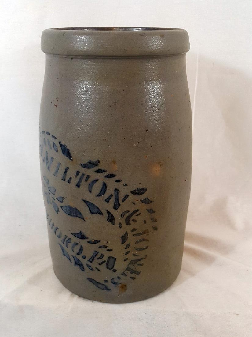 Stoneware Hamilton Jones Greensboro 2 Quart Wax Sealer - 4