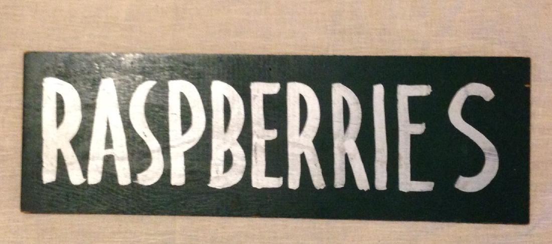1960 Farm Trade Sign - 3